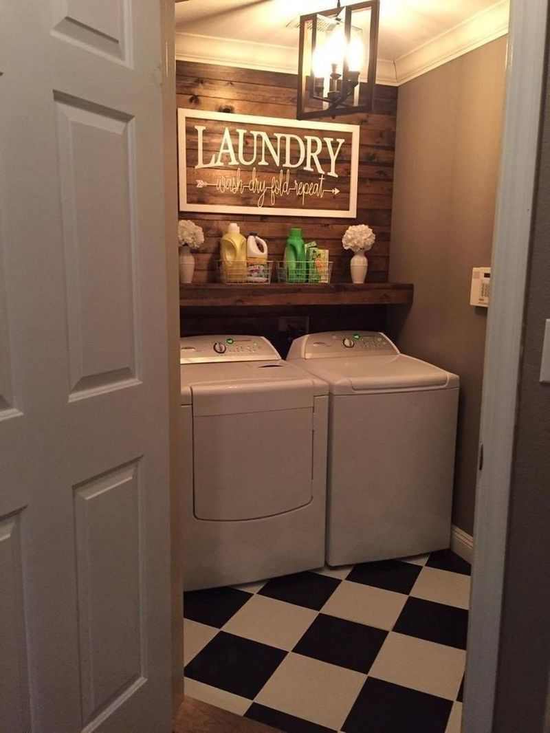 Photo of 42 Awesome Small Laundry Room Decorating Ideas To Inspire You