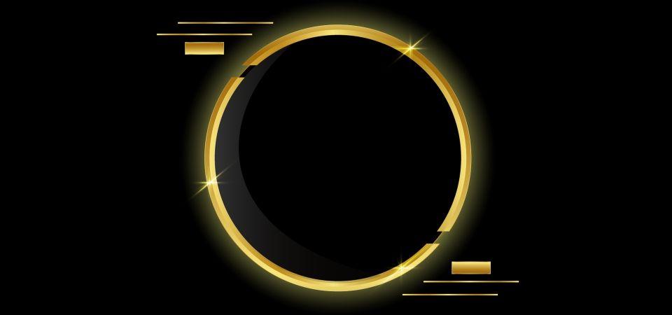 خلفية مع إطار ذهبي Frame Background Simple Background Design Background Design
