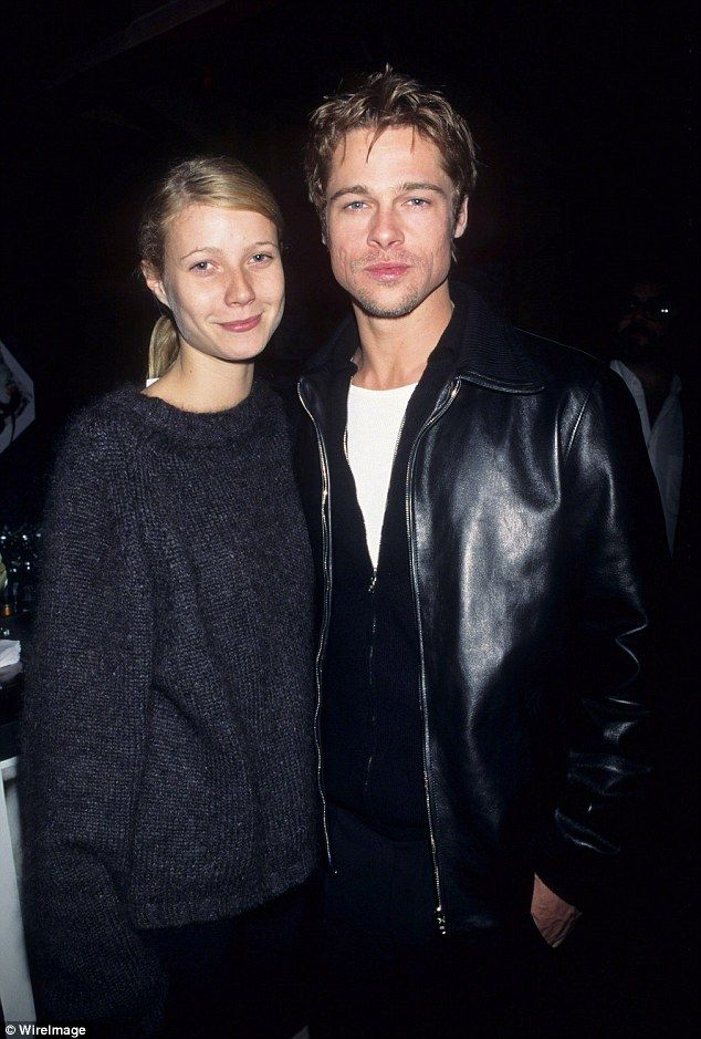 Gwyneth Paltrow & Brad Pitt, pictured in 1995, aren't they young!