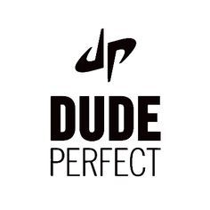 Dude Perfect Logo – 5 best friends just kickin it.