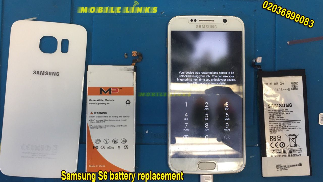 Samsung Galaxy S6 Battery Replacement Repair Mobile