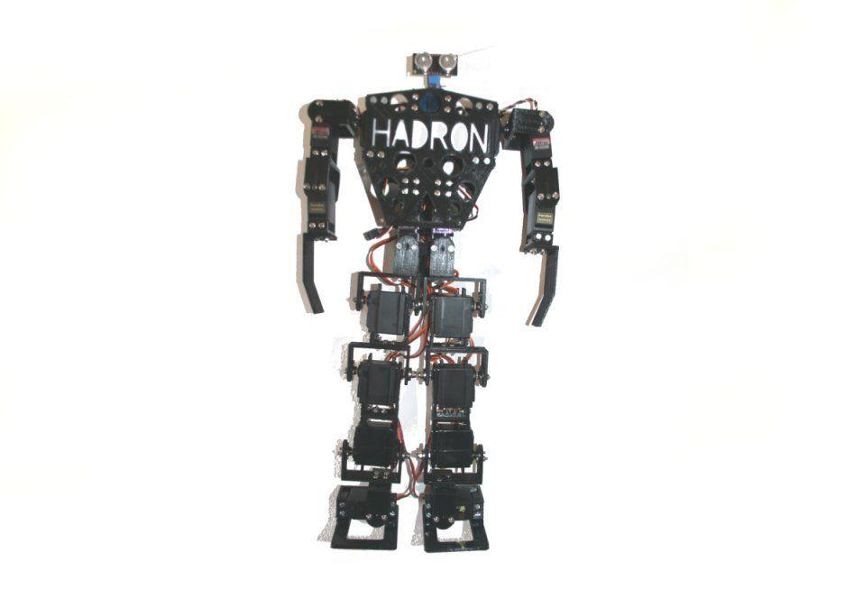 Hadron,+humanoid+biped+robot+kit+by+loguito.