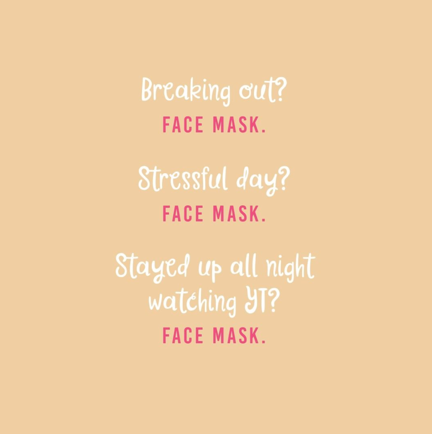 Face Mask Quotes Beauty Skin Quotes Mask Quotes Skincare Quotes