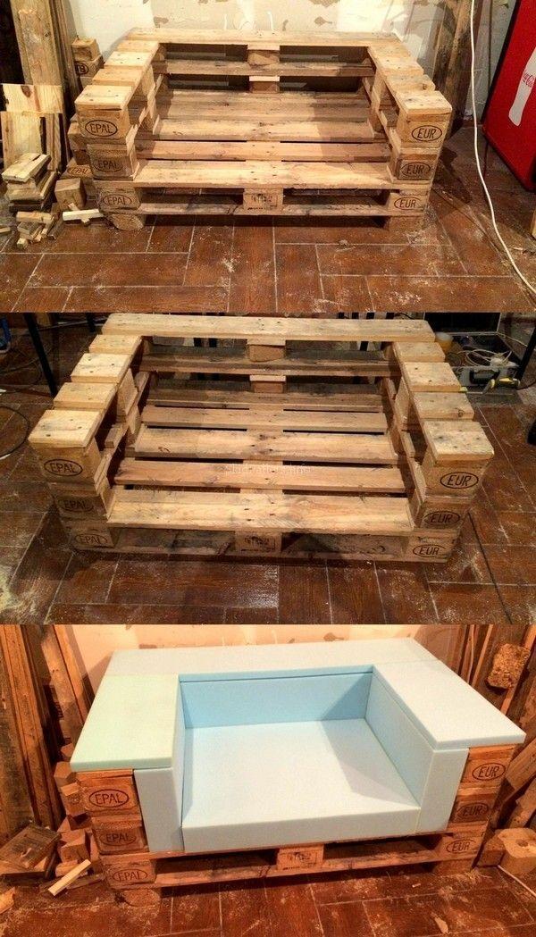 Skid Pallet Furniture Designs Wood Work Pallet Furniture Pallet