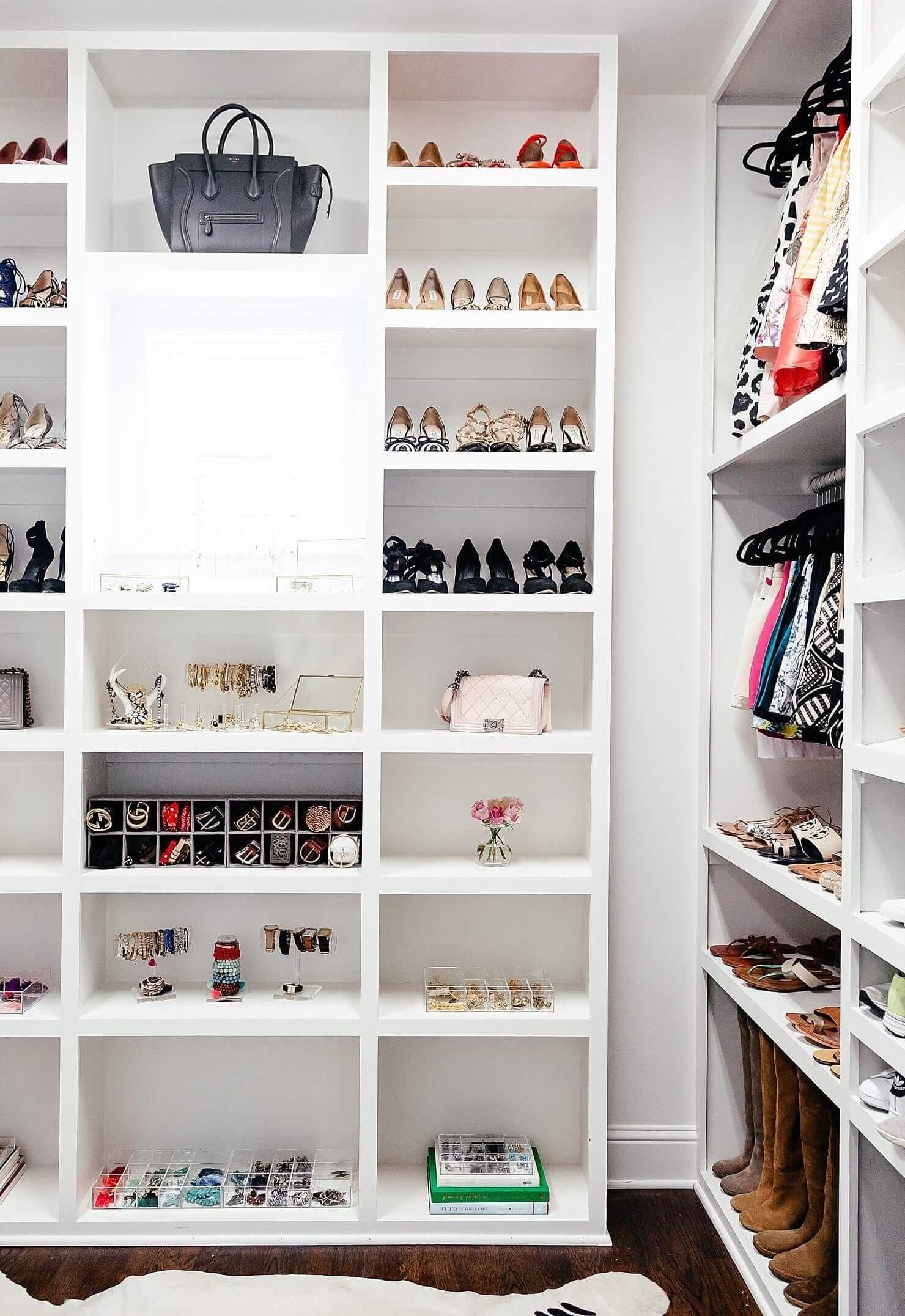 Modern style plus closet organization This bright