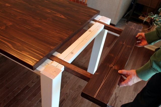 Photo of DIY Farmhouse Table with Extension Leaves (with Plans!) – Sweet Tooth Sweet Life