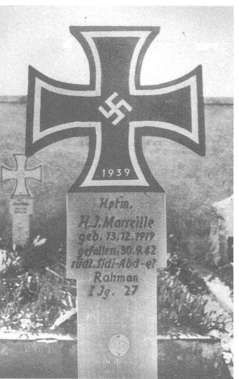 Hans-Joachim Marseille grave