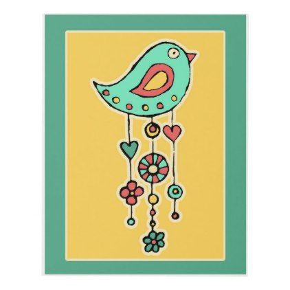Whimsical Ornamental Bird Panel Wall Art | Panel wall art, Wedding ...