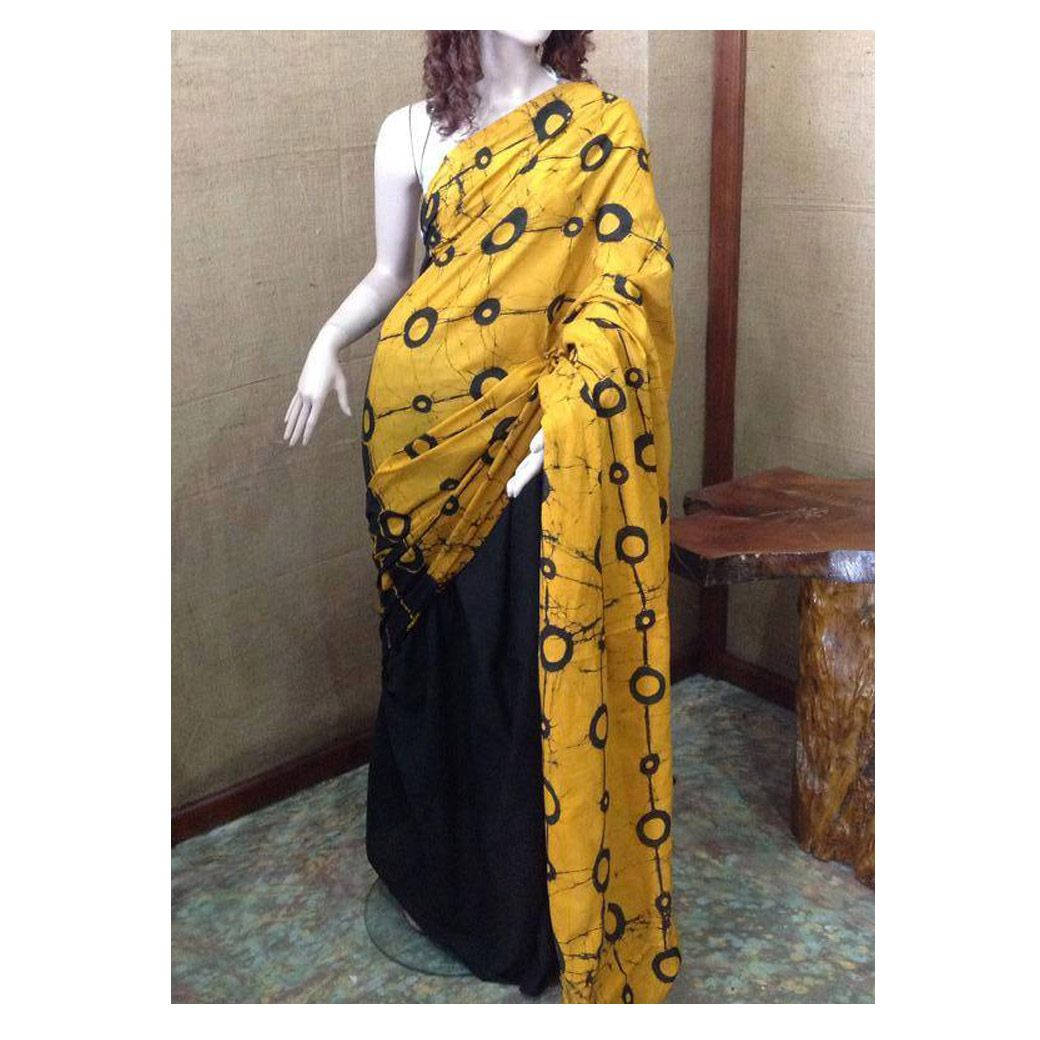 Sri Lankan Batik Printed Saree