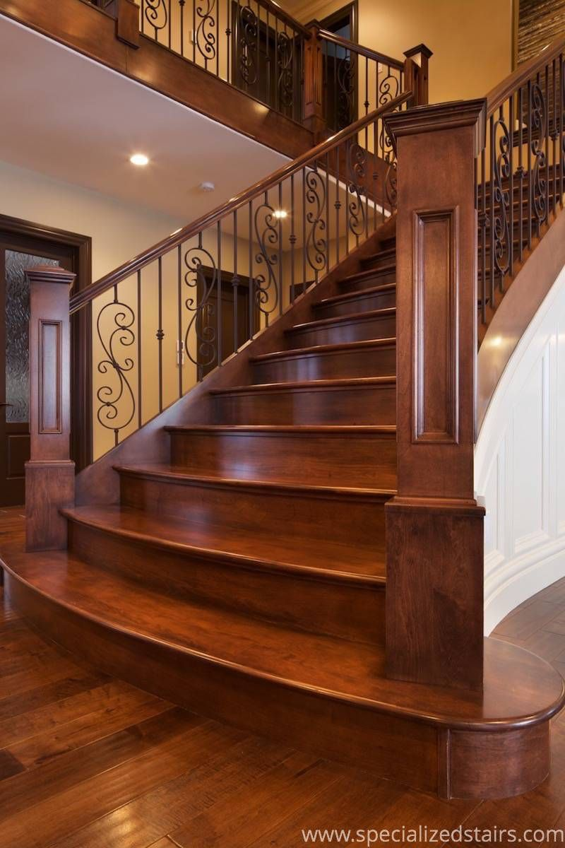Best Elegant Maple Flare In 2020 Stairs Balusters Stair 400 x 300