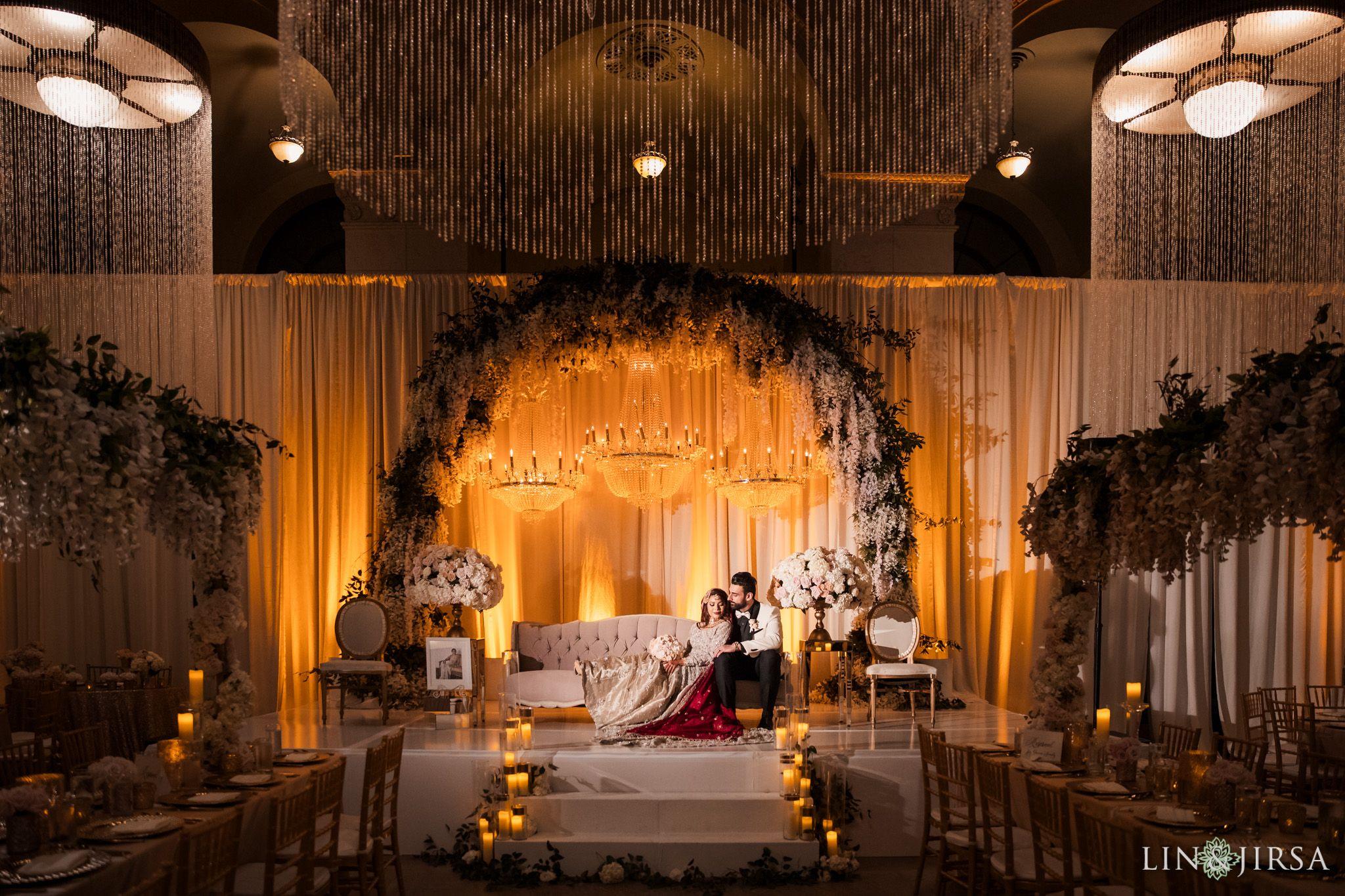 A Majestic Downtown Los Angeles Pakistani Wedding Pakistani Wedding Decor Pakistani Wedding Stage Pakistani Wedding