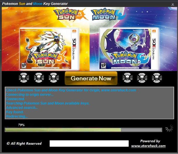 Pokemon Sun And Moon Key Generator Generation Pokemon Sun Moon