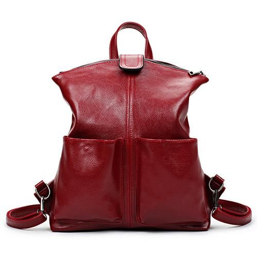 Women s Backpack High Quality Vegan Leather Sac Bag Top-Handle Large  Capacity a674260ddcd1d