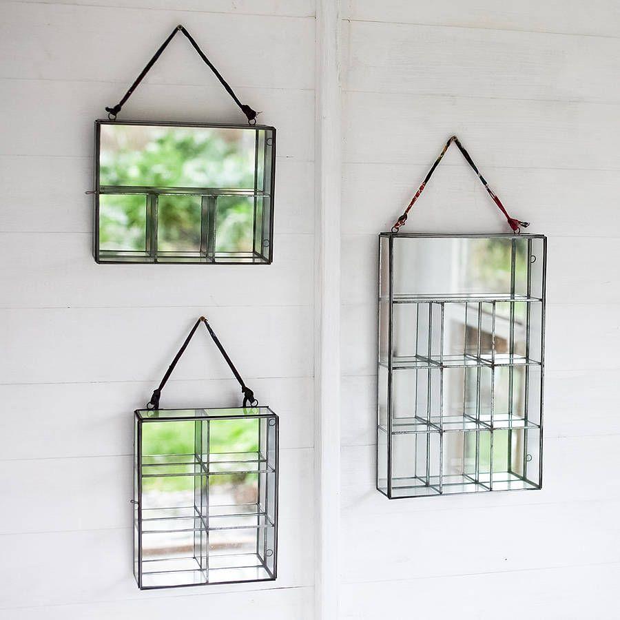 oni glass wall cabinet by nkuku | notonthehighstreet.com | HOME ...