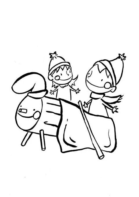 Pin De Eva Sanchez En Nadal Turu Murales Escolares Dibujos