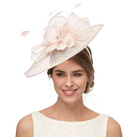 9b3b48317d80d Debut Pink diamante flower saucer fascinator