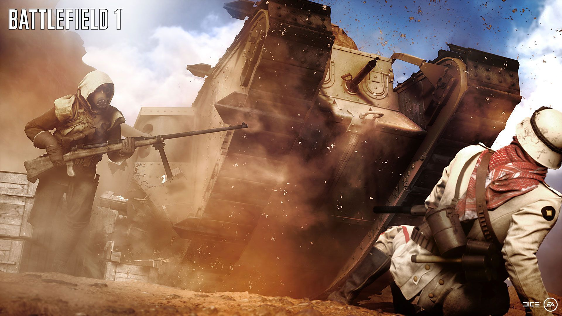 Battlefield 1 Trailer Recut with REAL WWI Footage (WATCH