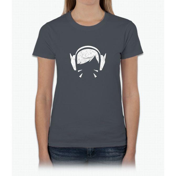 D.VA Weathered Womens T-Shirt
