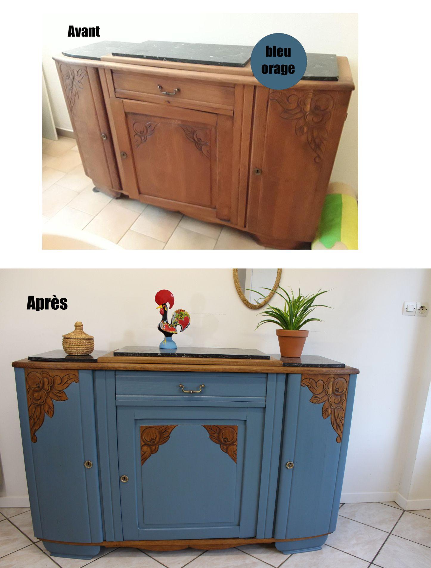 Le Renouveau D Un Buffet Art Deco Reveillez Vos Meubles Mobilier De Salon Relooking Meuble Relooking De Mobilier