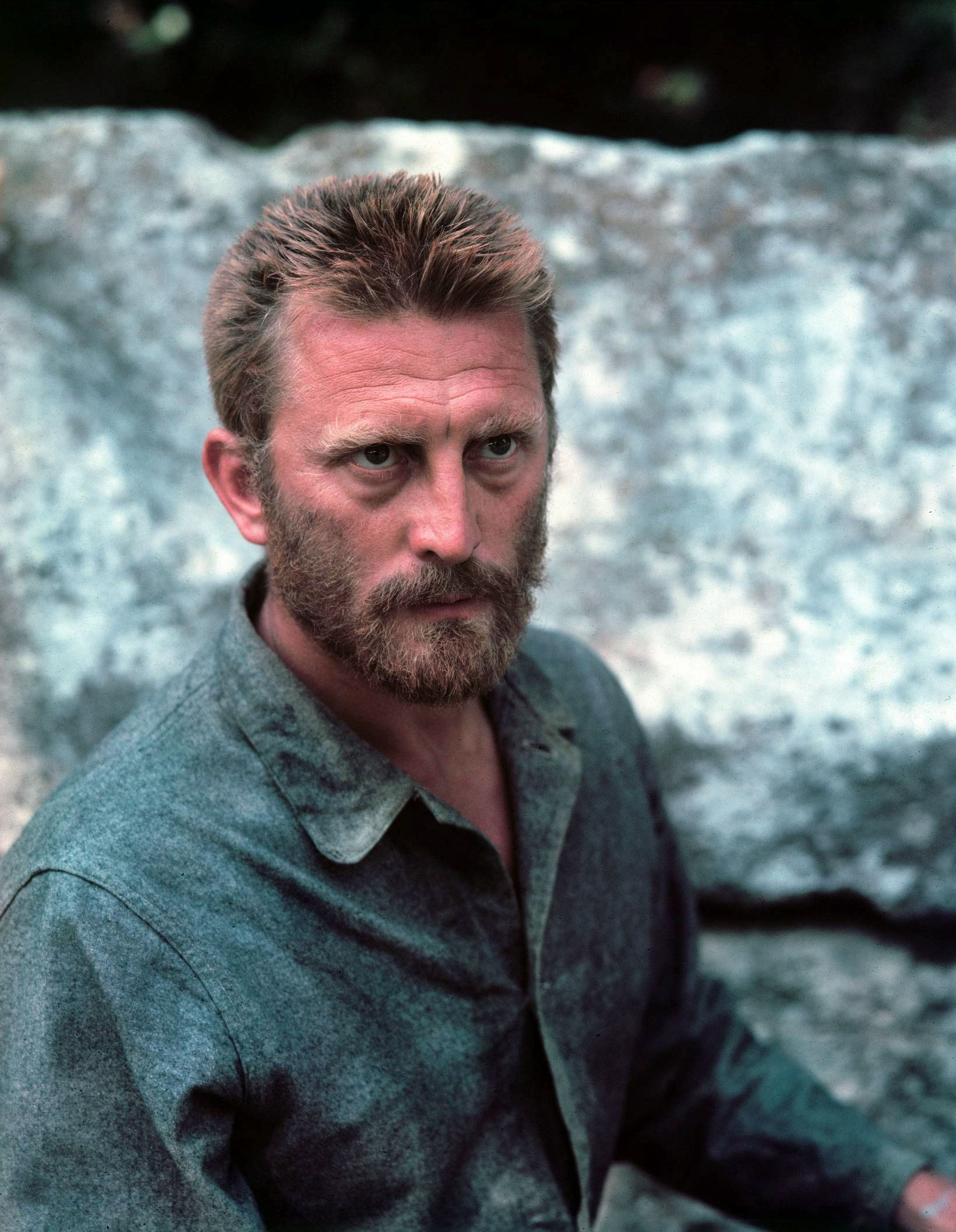 Image result for young kirk douglas obituary van gogh