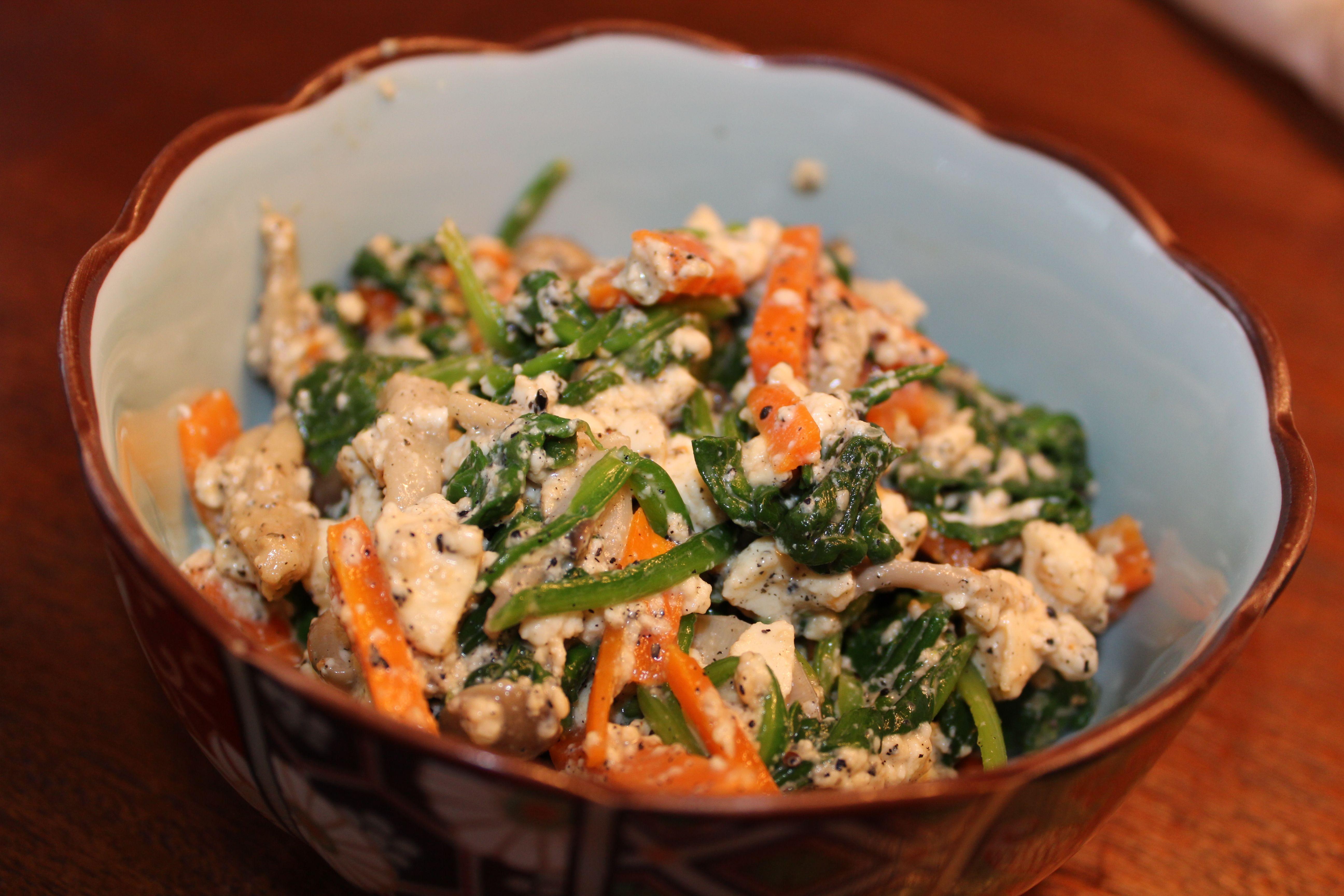 Shiraae-Spinach & Tofu salad