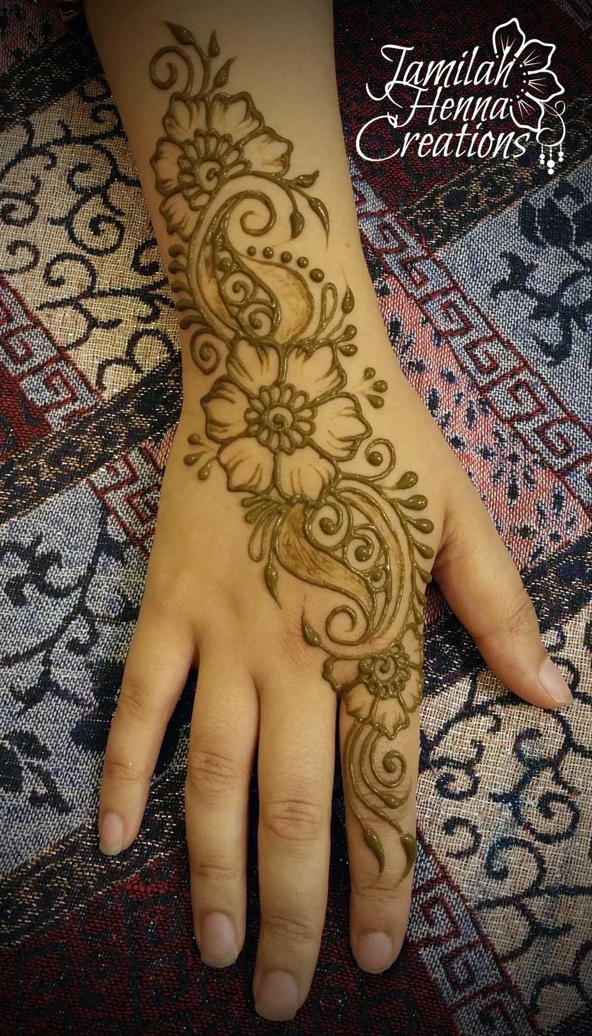 split paisley henna www.jamilahhennacreations.com