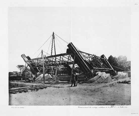 Building of The Eiffel Tower (1887-1889)