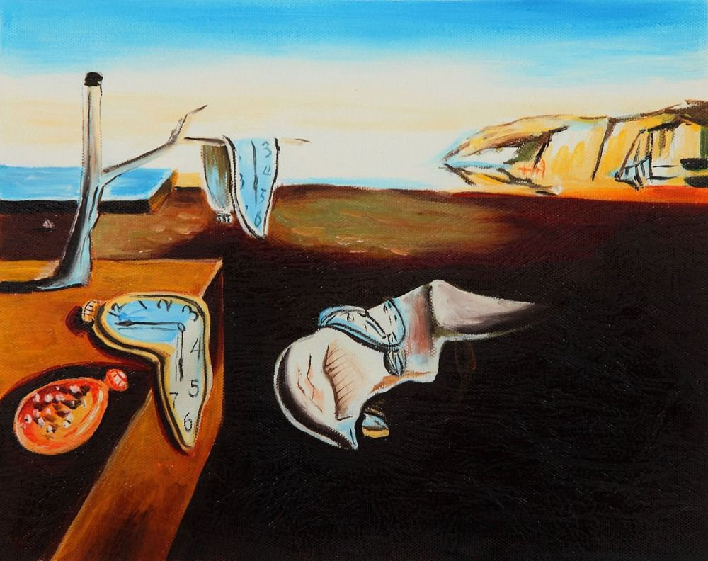 an analysis of the persistence of memory a painting by salvador dali Salvador dali: the persistence of memory surrealism is present in both literature and art his painting, the persistence of memory, is an excellent example of the surrealist movement salvador dali was a spanish surrealist painter in the 20 th century.