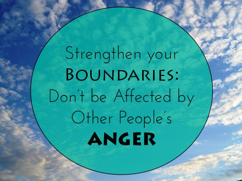 Strenghten Your Boundaries: Protect Yourself from Other ...