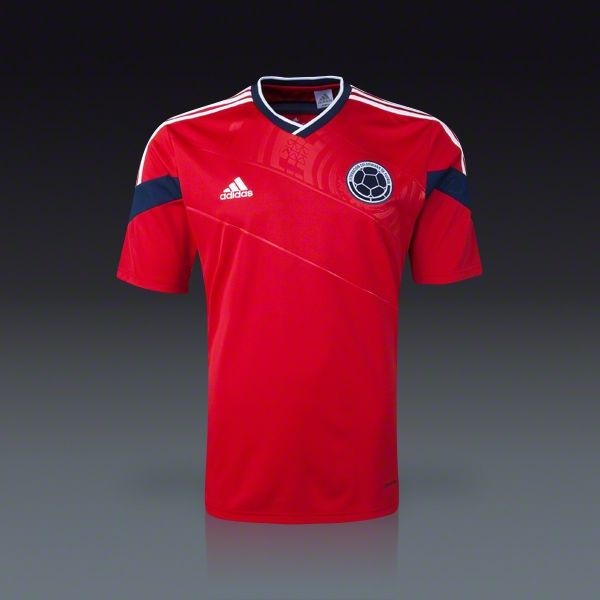 9d53080494b05 adidas Colombia Away Jersey 2014 | Cool Clothes | Adidas colombia ...