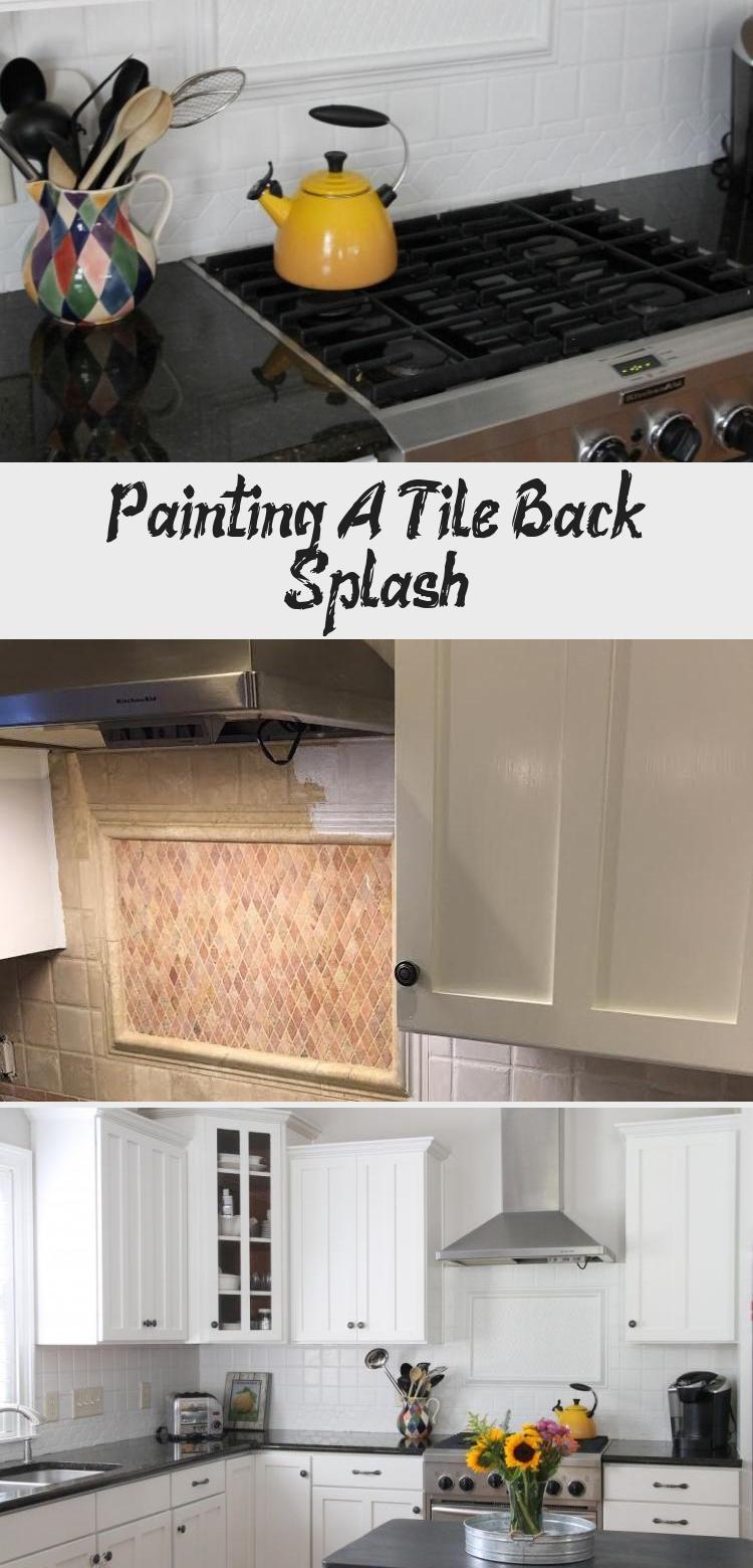 Painting A Tile Back Splash Kitchen Tiles Backsplash Tiles