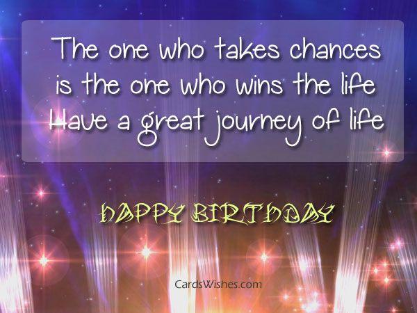 Happy Birthday Message Simple ~ Happy birthday chance taker birthday wishes pinterest simple