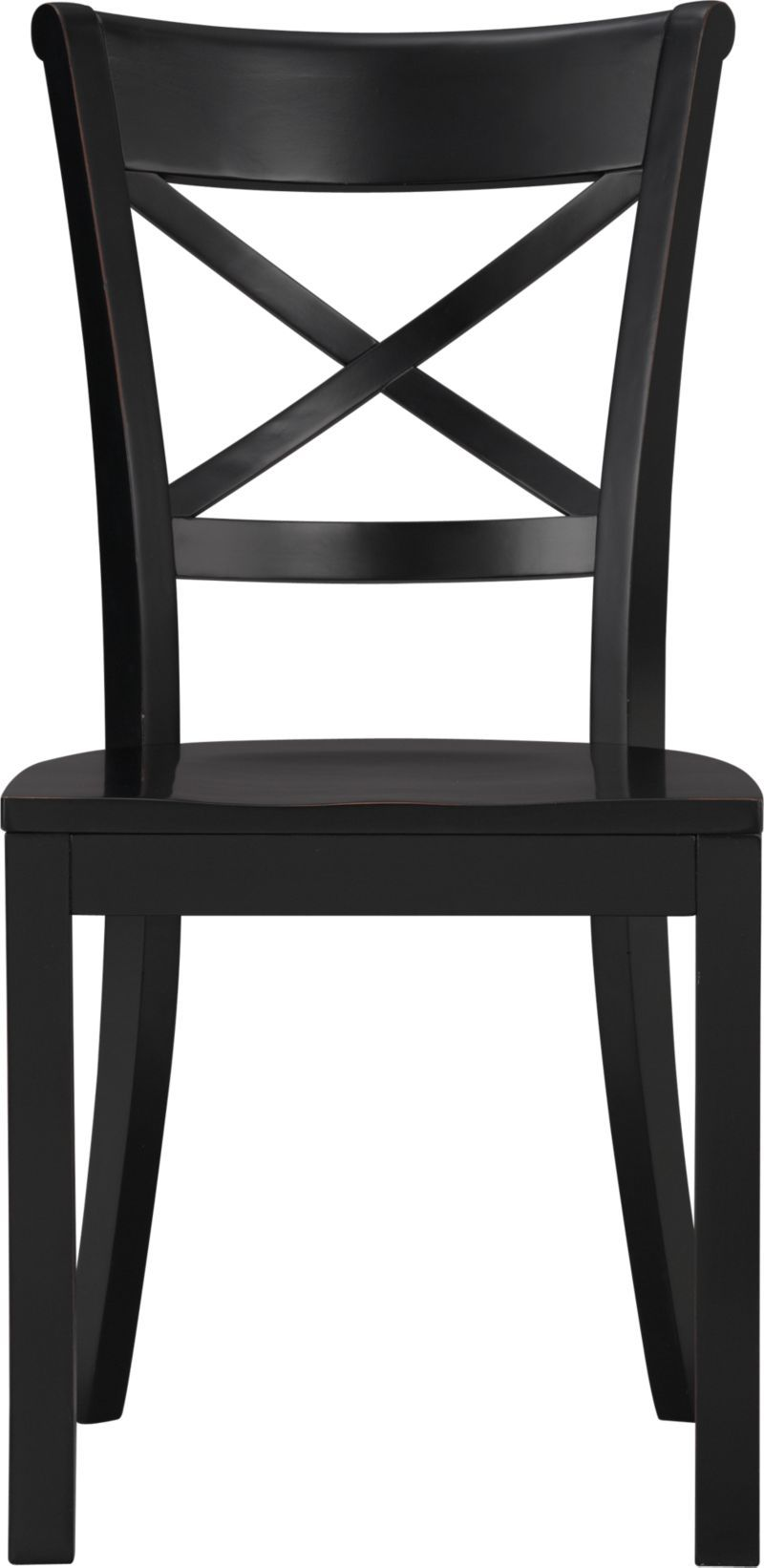 Vintner Black Side Chair | Crate And Barrel $149
