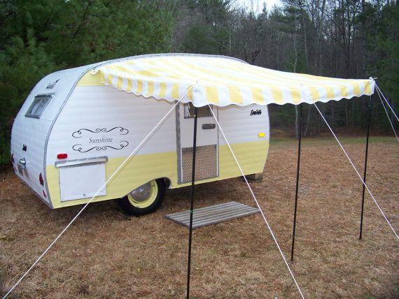 Vintage Camper Awning By Sew Country Awnings Quot Daunelle