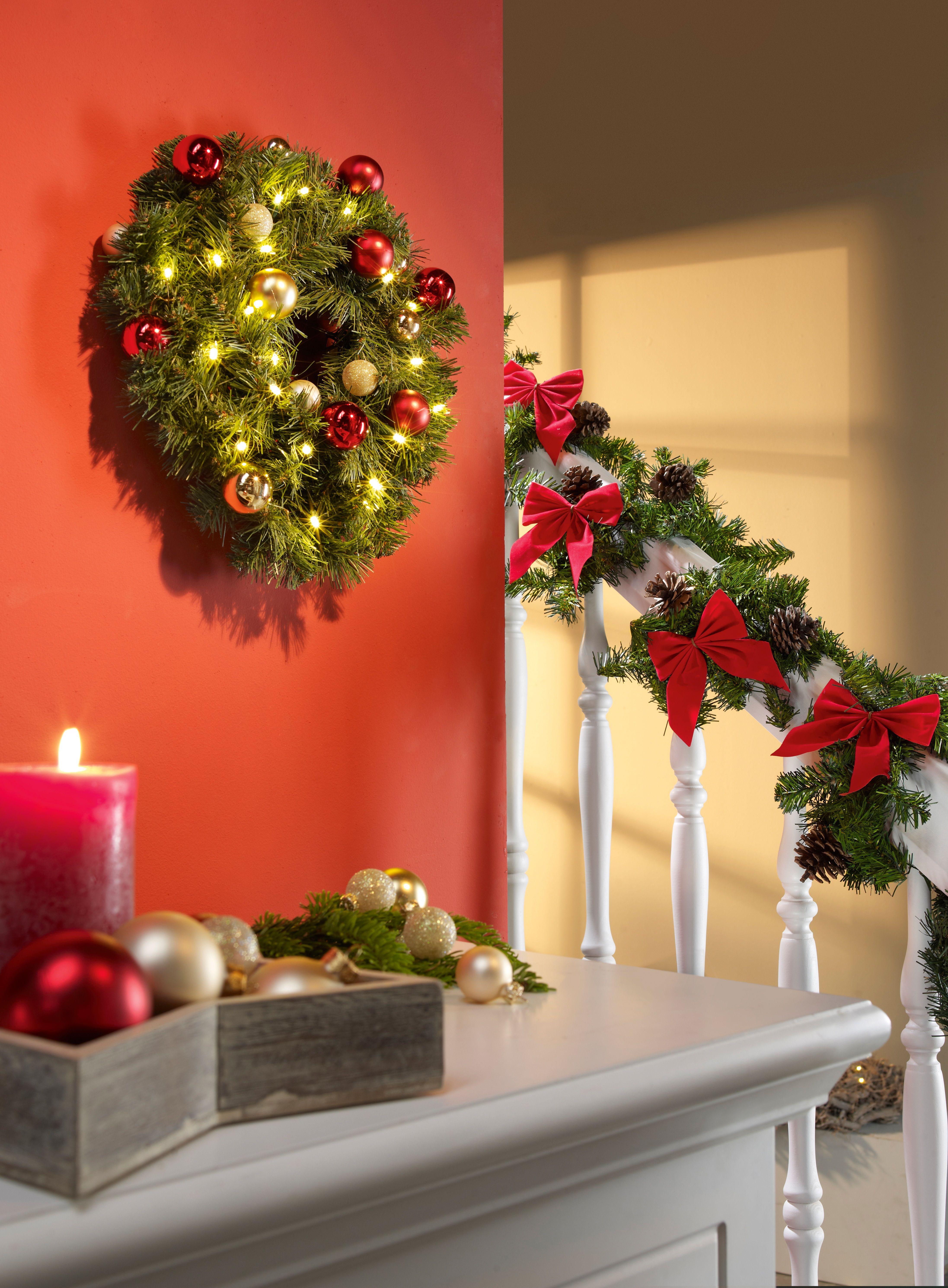 Macht es euch zuhause gem tlich weihnachtsdeko xmas - Obi weihnachtsdeko ...