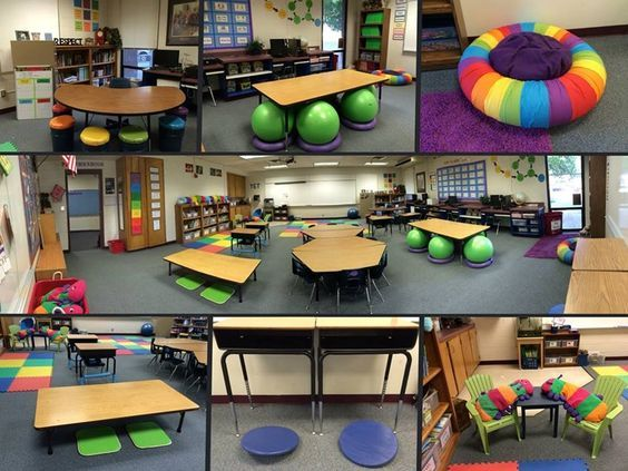 Colorful Flexible Seating Examples Flexible Seating Classroom