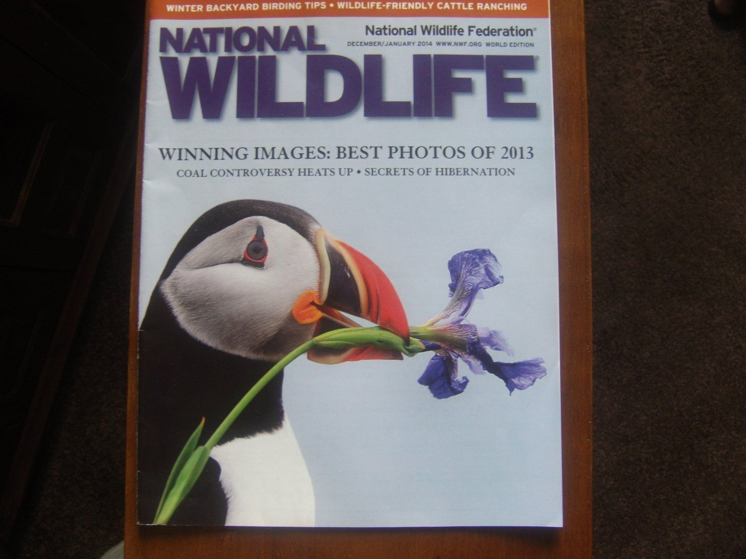 National Wildlife Magazine jan/2014 on sale $1.99/$3.00 shipping at ecrater.com