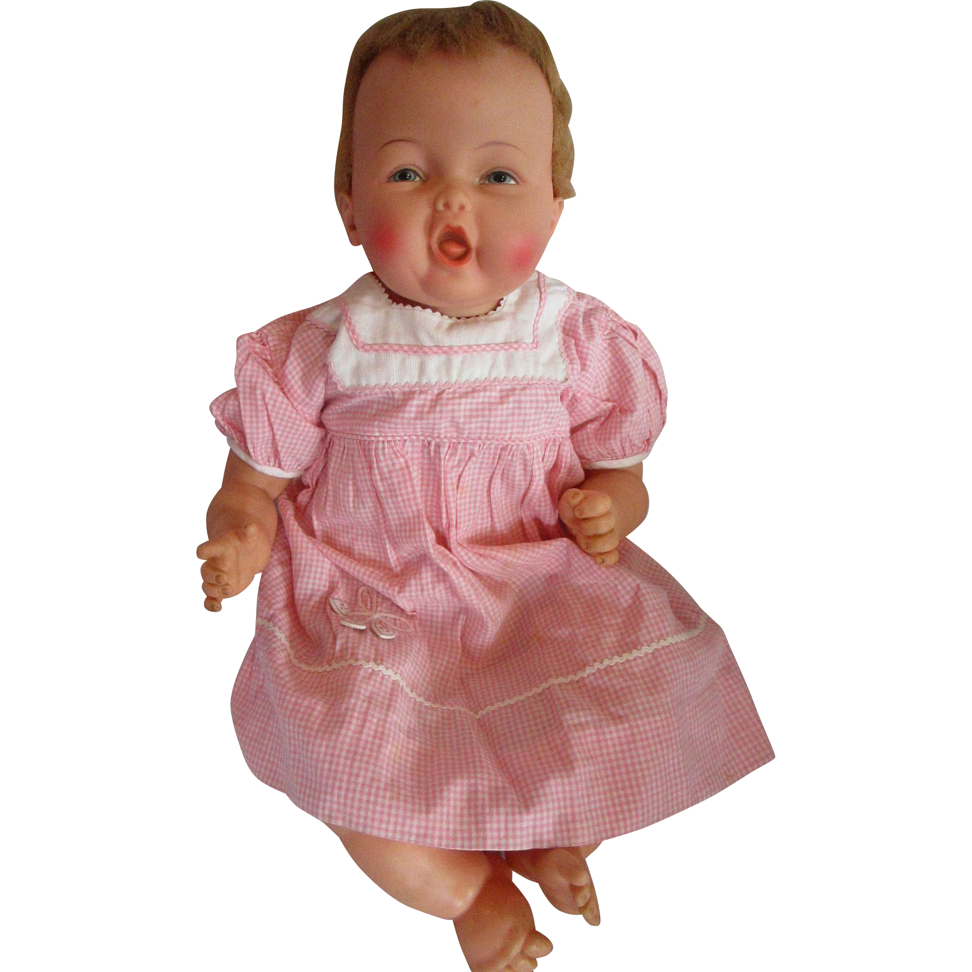 Ideal 1962 63 Rare 20 Bouncing Baby Coos Doll Still Cries Adorable Dolls Adorable Baby Dolls