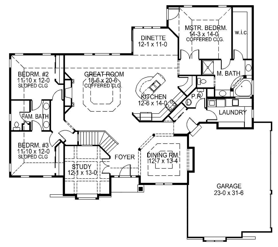 The Autumn Home Design Demlang Builders Sussex Wi Floor Plans House Floor Plans Model Homes