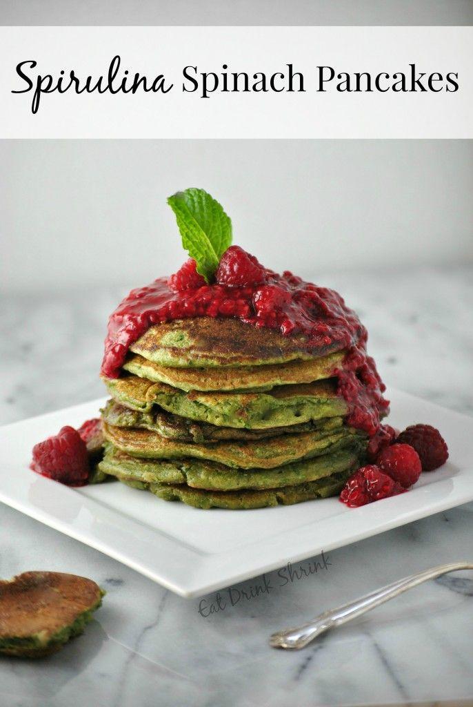 Vegan Spinach Pancakes Vegan Sweets Spinach Pancakes