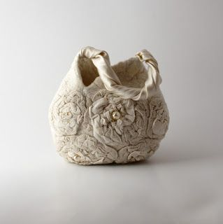 Rasos veltinis: felted handbag