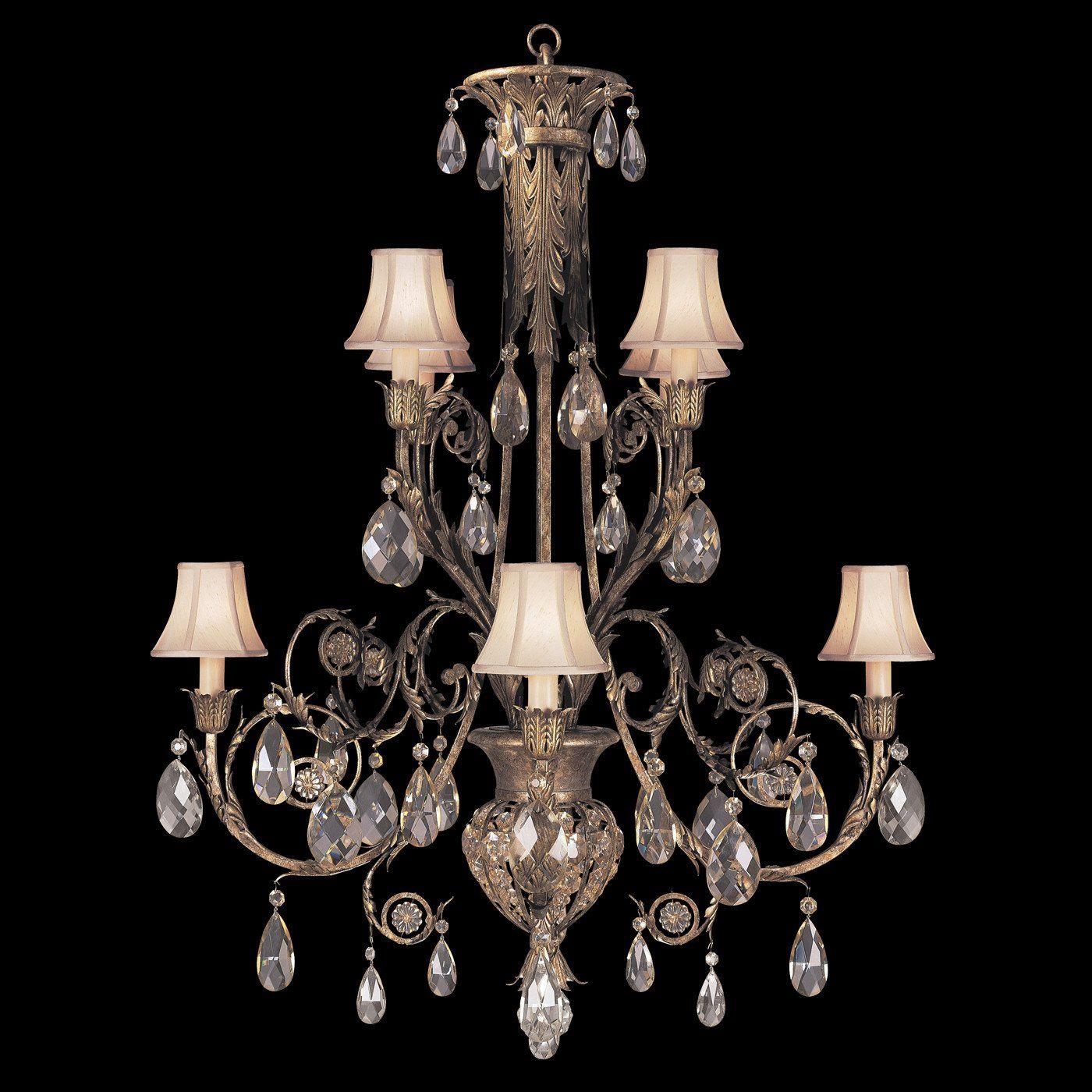 Fine Art Lamps A Midsummer Nights Dream 8 Lights Chandelier