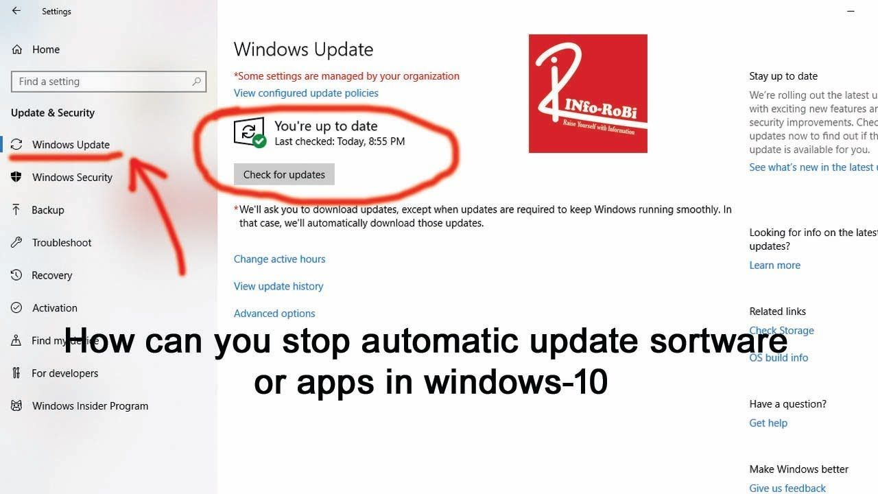 How Can You Stop Automatic Update Software Or Apps In Windows 10 Internet Speed Software Windows 10