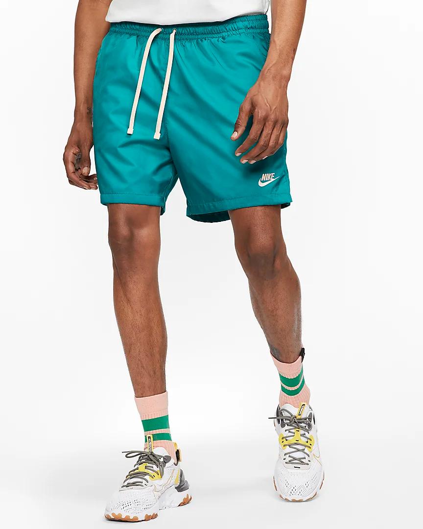 Nike Sportswear Men S Woven Shorts Nike Com Mens Shorts Outfits Mens Summer Outfits Trendy Shirt Designs [ 1080 x 864 Pixel ]