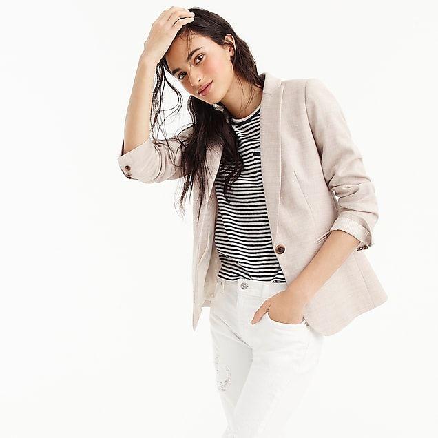 3a4f5d7c70 women's parke blazer in stretch linen - women's blazers | Wardrobe ...
