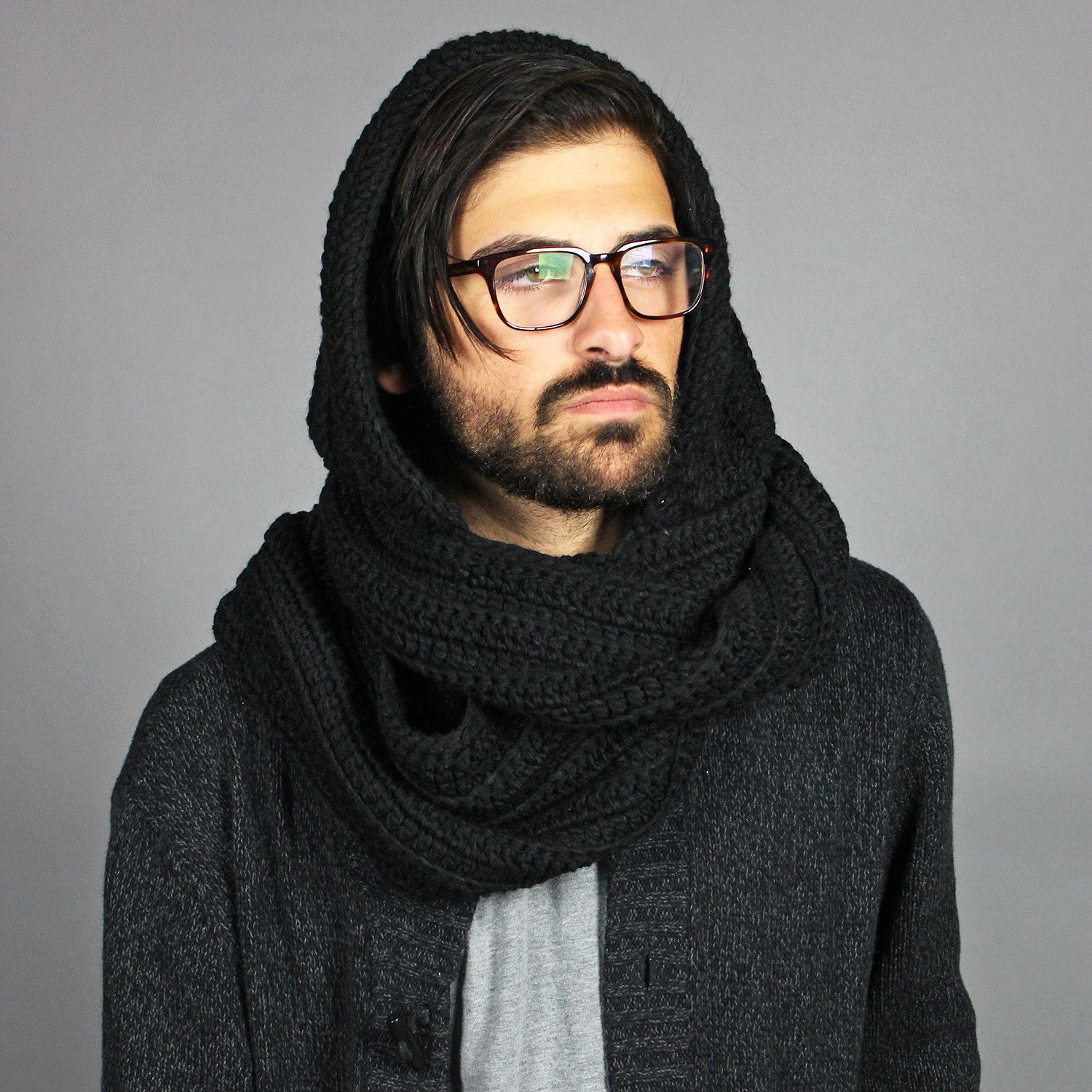 mens scarf - Google Search | Scarves | Pinterest | Hooded ...