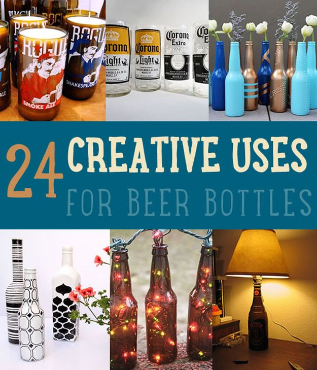 uses for beer bottles beer bottles bottle and creative