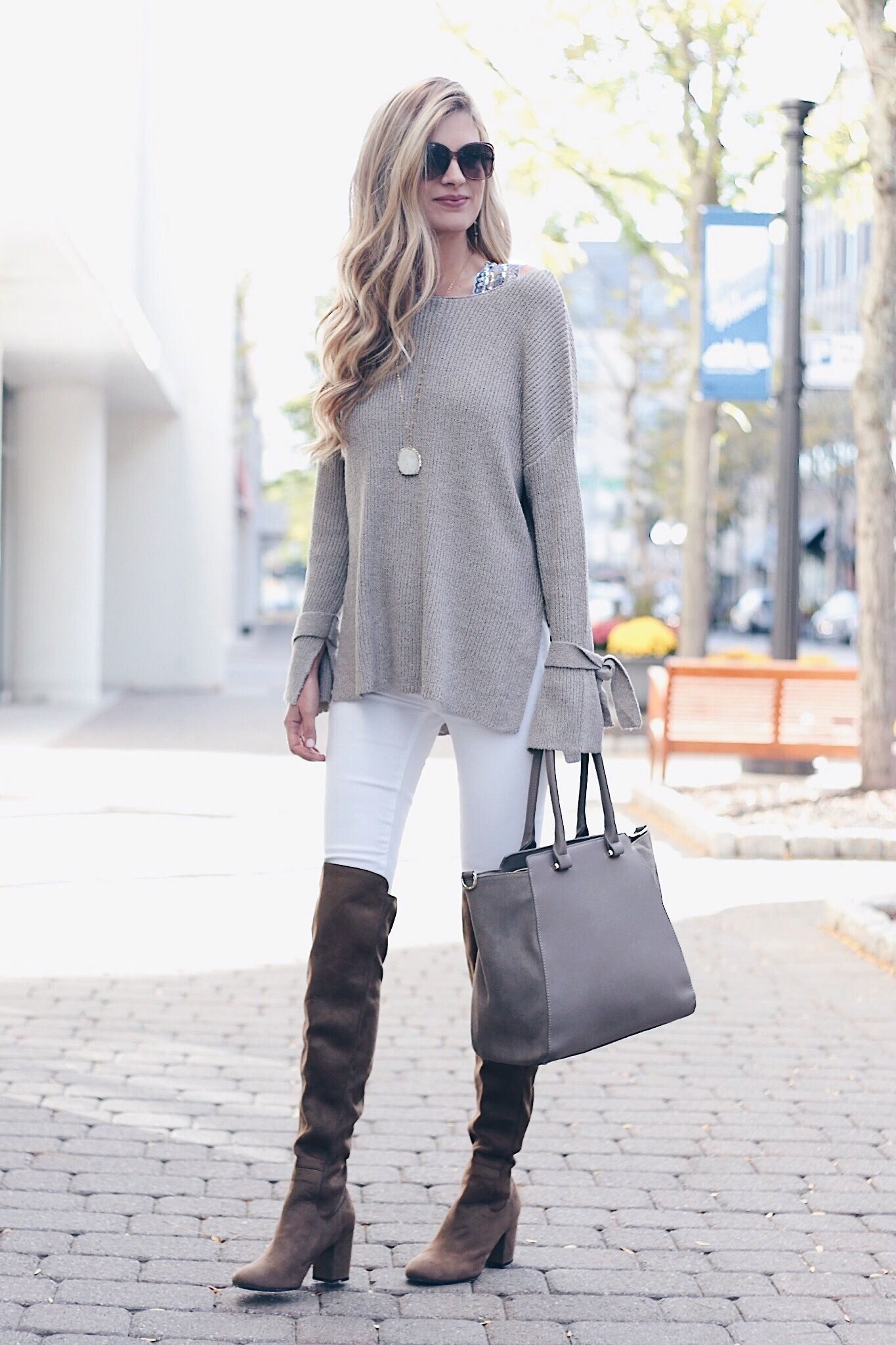 Trendy Fall Sweaters 2017 - Spotlight on Statement Sleeve Sweaters ...