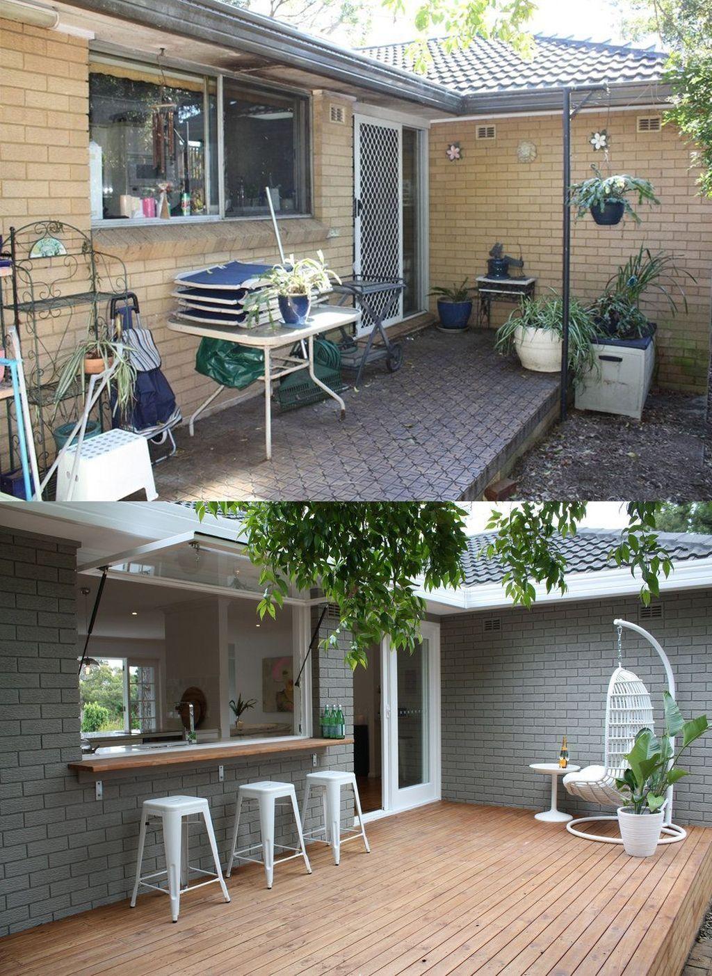 20+ Inexpensive Home Remodel Ideas #backyardremodel