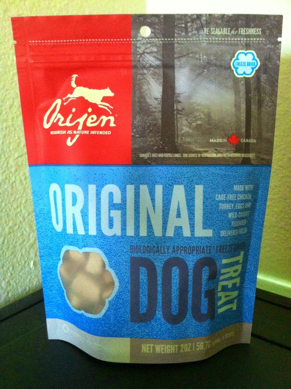 Orijen Pet Foods Freeze Dried Dog Treats Review from